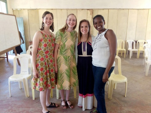 Julianna Jones (All Nations Kenya) second from left in support of A Second Chance Consults attended a session Ruth was facilitating in Mombasa Kenya.